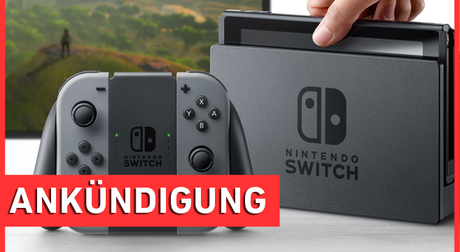 #LiveZurSwitch - Präsentation Nintendo Switch Twitch Stream
