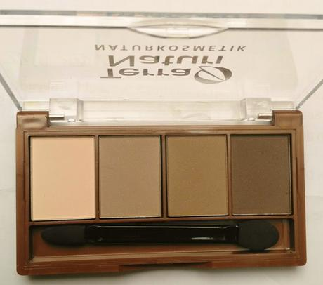ISANA Duschgel Dark Magic (LE) + Terra Naturi Quattro Eyeshadow 05 Chocolate Variety