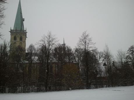 Foto: St. Felizitas in Lüdinghausen im Winter