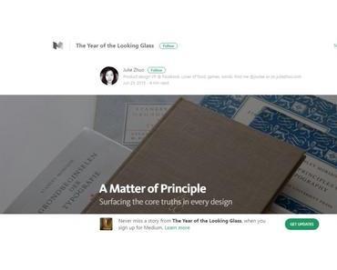 Eine Frage des (Design)-Prinzips