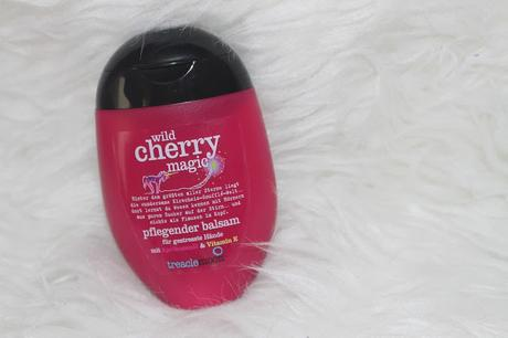 treaclemoon wild cherry magic Review Duschpeeling + Shower Gel + Handcreme + Bodylotion