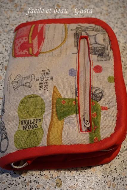 Strick-Nadel-Tasche Nr. 2