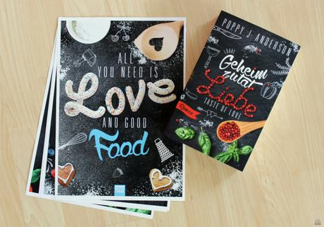 "[Rezension] Poppy J. Anderson – ""Taste of Love – Geheimzutat Liebe"""