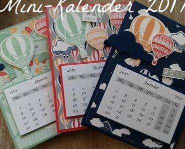 Make&Take #1 von meiner Katalogparty: Minikalender mit Post-It