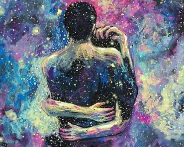 Zwischen dem Leuchten der Sterne