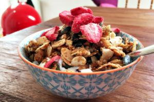 Getreidefreies Müsli  – Low Carb, zuckerfrei