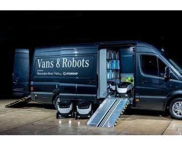 R-Klasse: Daimler investiert in Lieferroboter Startup Starship
