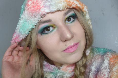 Polar Lights Look - #CircleofMakeup03