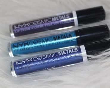 NYX Cosmic Metals Lip Cream Review