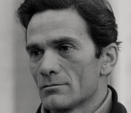 Italienische Schriftsteller Pier Paolo Pasolini