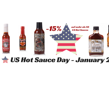 National Hot Sauce Day!