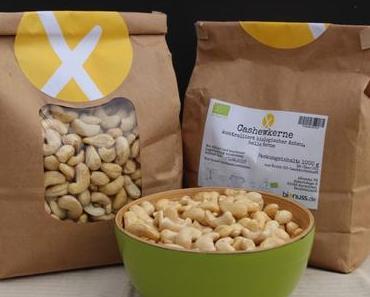 Cashews von bionuss.de – ein #Produkttest