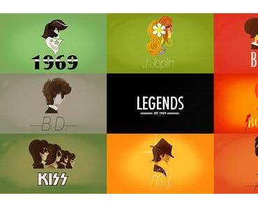 Legends – Ein animierter Spaziergang durch die Musikgeschichte