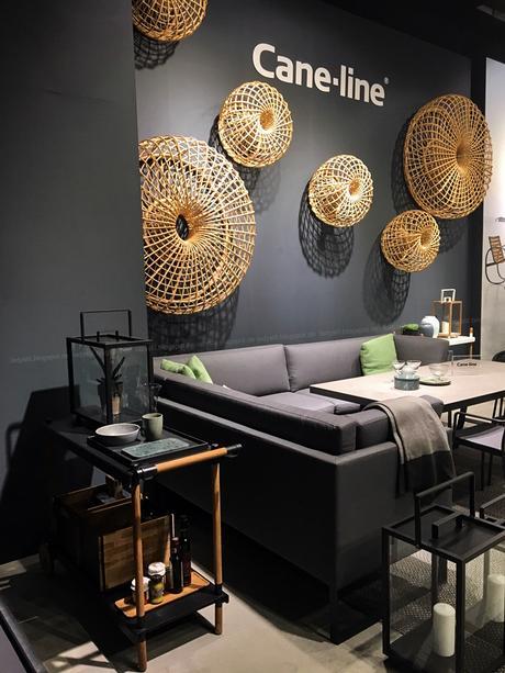 Outdoor Hersteller Cane-line Internationalen Möbelmesse imm2017 in Köln mit Herstellern wie String, Vita, Bloomingville,Cane-line und Carolijn Slottje