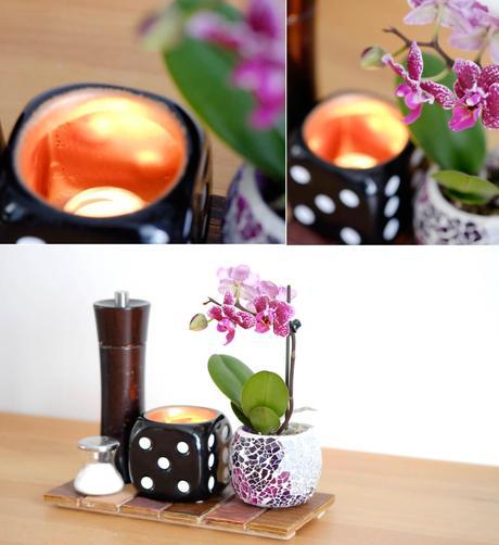 diy teelichthalter mit kupferfarbe selber machen. Black Bedroom Furniture Sets. Home Design Ideas