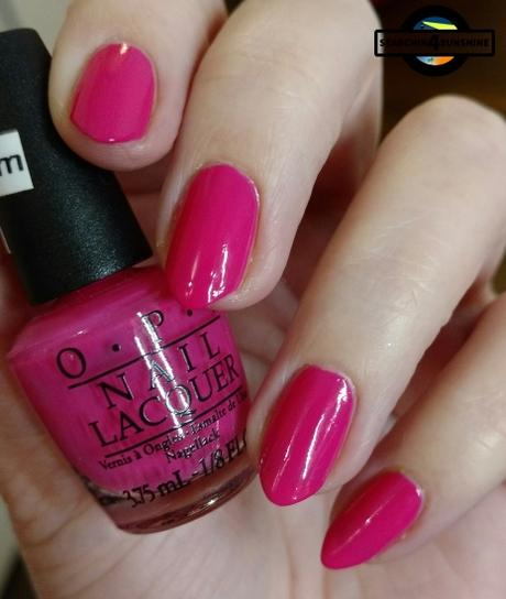 [Nails] Lacke in Farbe ... und bunt! PINK mit OPI A-Rose from the Dead