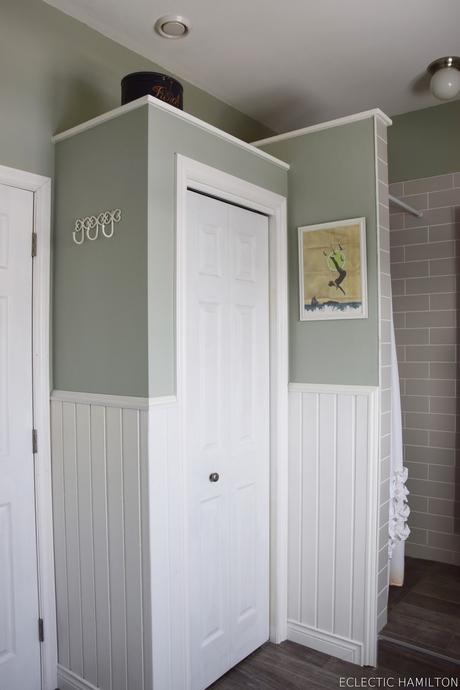meine badezimmer deko und gute gedanken hinter glas. Black Bedroom Furniture Sets. Home Design Ideas