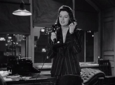 "Filme ohne Farbe: ""His Girl Friday"" (1940) mit Cary Grant & Rosalind Russell"