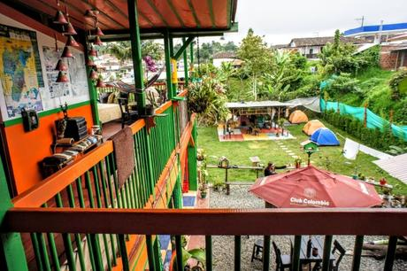 Hostel Salento Camping Colombia