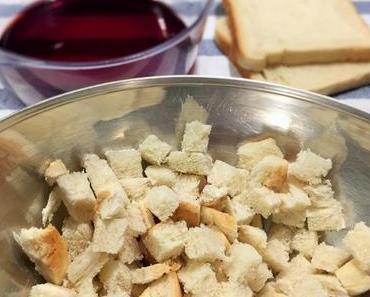 Warm eingepackt: Brot und Speck im Wirzmänteli