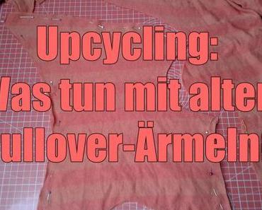 Upcycling: Was tun mit alten Pullover-Ärmeln?