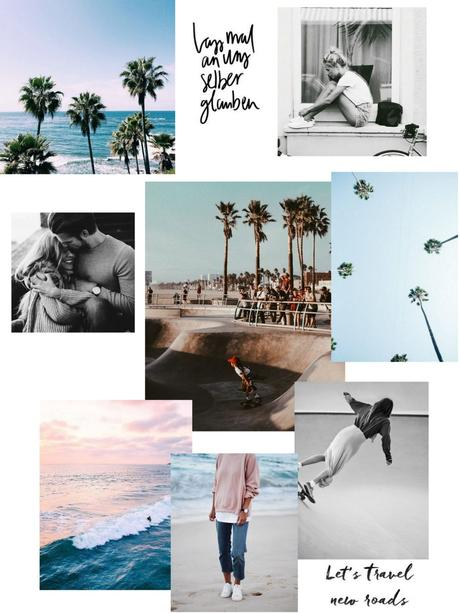 MOODBOARD #3 LET'S TRAVEL NEW ROADS