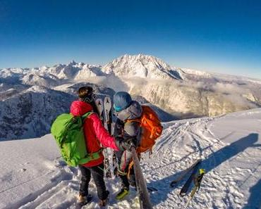 Wedeln mit Watzmannblick: Skitour auf die Hohen Rossfelder