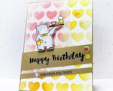 Happy Birthday   Zur Feier des Tages serviert das Hippo
