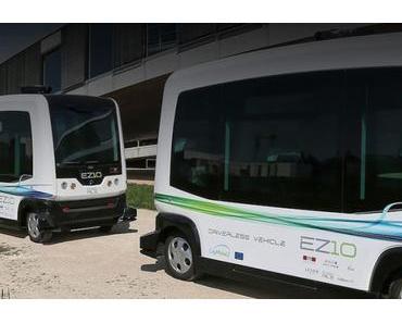 Der Alstom Konzern investiert in autonome Shuttle