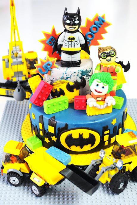 the lego batman movies die torte zum film. Black Bedroom Furniture Sets. Home Design Ideas
