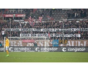 FC St. Pauli verhöhnt Opfer der Bombardierung Dresdens - Entschuldigung des Vereins ist unglaubwürdig