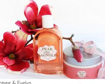 Crabtree & Evelyn - Pear and Pink Magnolia - Body Wash & Body Souffle