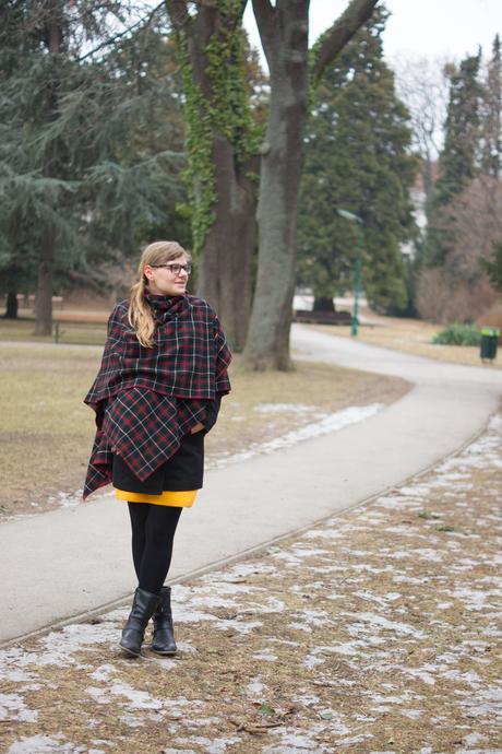 Gelbes Kleidchen als Valentinstags Outfit