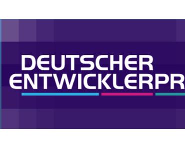 Deutscher Entwicklerpreis 2017: Einreichungsphase steht fest