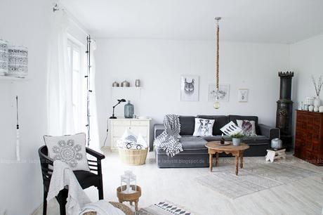 Tipps zur konsequenten Farbgestaltung der eigenen vier Wände, wie gestaltet man sein Zuhause kostengünstig und mit wenigen Mitteln um, Vorher nachher Vergleich