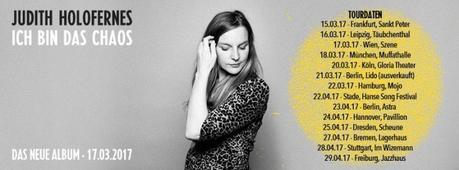 Videopremiere: Judith Holofernes – Ich bin das Chaos // + Tourdaten