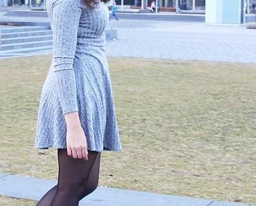 The Gray Skater Dress