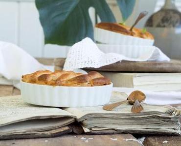 Kartoffel Speck Gratin in Tarteförmchen / Cheese Tart with Potatoes and Bacon #basiclove