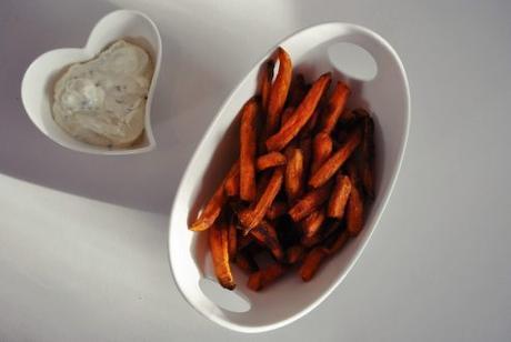 Süßkartoffel Pommes Tk