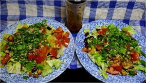 """herzhafter Salat // es hat sich aus""""etepetet""""! :("""