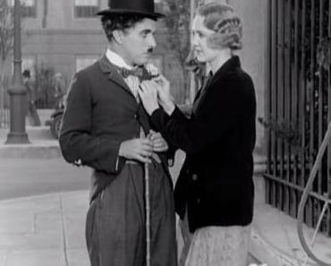"""Filme ohne Farbe: """"Lichter der Großstadt"""" (1931) von/mit Charlie Chaplin"""