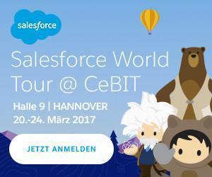 New York, Rio, Laatzen: Wie Salesforce Fun auf die CeBIT 2017 bringt