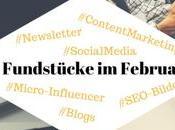 Unsere Fundstücke Online-PR Content Marketing 20.02.2017