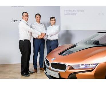 Daten sammeln: Kooperation von Mobileye mit BMW und Volkswagen
