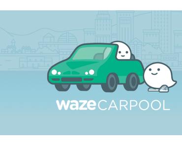 Waze Carpool Mitfahrdienst expandiert in weitere Städte – Uber Konkurrenz von Google