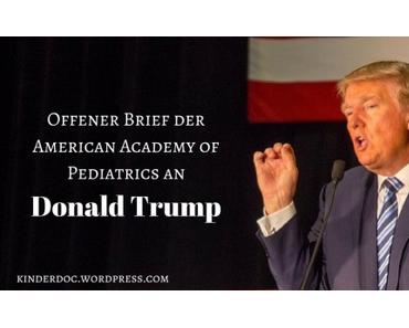 Offener Brief der AAP an Donald Trump