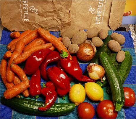 He, jetzt bin ich auch ein GemüseRetter!!! ..und ein Rezept