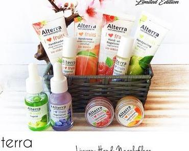 Alterra - I ♡ Fruits - Limitierte Edition - Hand-,Nagel-,Lippenpflege
