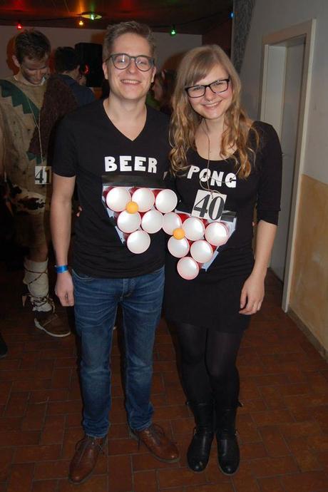 DIY Couple Beer Pong Costume