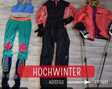 Gut angezogen: Packliste für Skitouren